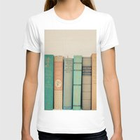 literary T-shirts featuring Literary Gems I by Laura Ruth