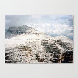 Sass Pordoi  Canvas Print