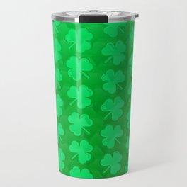 St. Patrick's Day Clovers Travel Mug