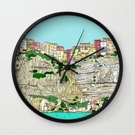 Bonifacio in Corsica Wall Clock