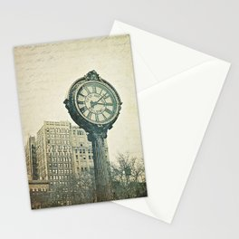 Fifth Avenue time Stationery Cards