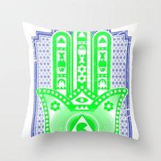 la buena suerte Throw Pillow