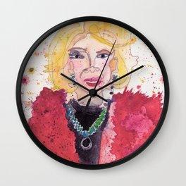 Joan Rivers Wall Clock
