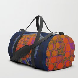 Bees Tree in the Smart City / Organic Hexagon Duffle Bag