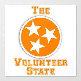 Tennessee Volunteer State Canvas Print