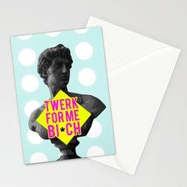 Twerk for me Stationery Cards