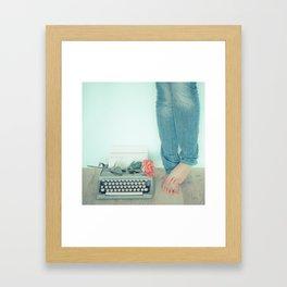 It's Only Words... Framed Art Print