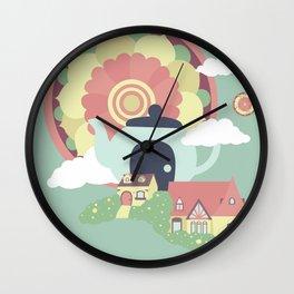 Mandala Tea Wall Clock