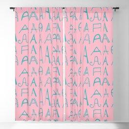 Pinky AAAAAAAAAA Blackout Curtain