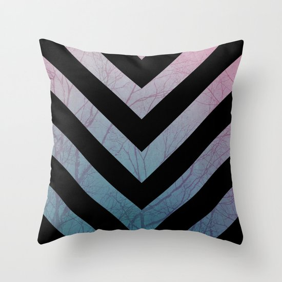 Bold Revisited  Throw Pillow