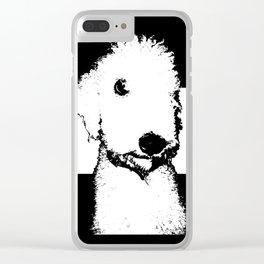 Bedlington Terrier Clear iPhone Case