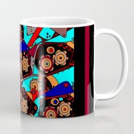 A Steampunk Factory Machine Guide Coffee Mug