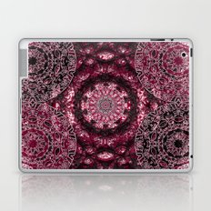Claret Lace Mandalas Laptop & iPad Skin