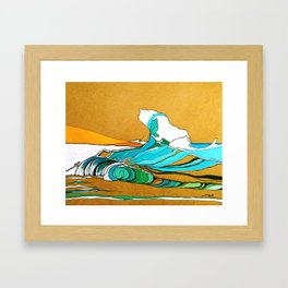 Fishing in Ponte Preta Framed Art Print