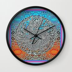 Dragon Garden 2 Wall Clock