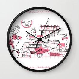 Baking Day Fun Wall Clock