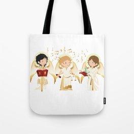 Archangels singing Tote Bag