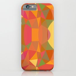 Summer Colors Modern Abstract iPhone Case