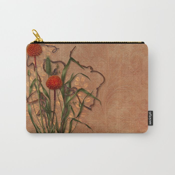 Wild Weeds Carry-All Pouch