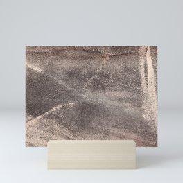 Sandpaper Texture Mini Art Print