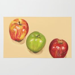 crispy apples Rug
