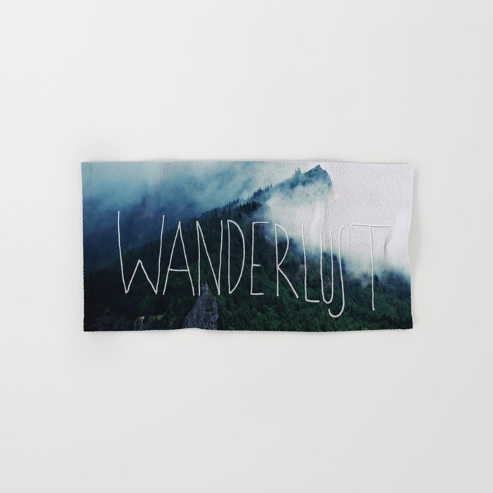 Wanderlust: Columbia River Gorge Hand & Bath Towel