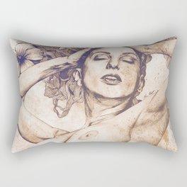 Remembering Days Of Yore: Sunset Rectangular Pillow