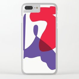 Matisse Shapes 10 Clear iPhone Case