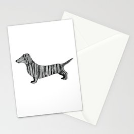Dachshund Sausage Dog Stationery Cards