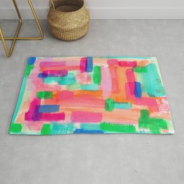 Acrylic Painting Modern Abstract Pattern - Welcome To My Fantasy Rug