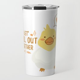 Cockatiel Funny Parrot Mom Bird Nerdy Pet Ara Gift Travel Mug