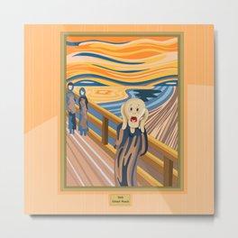 The Scream by Munch Metal Print