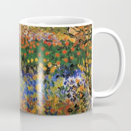 Garden in Bloom, Arles, Vincent van Gogh Coffee Mug