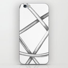 Paperclip #2 iPhone Skin