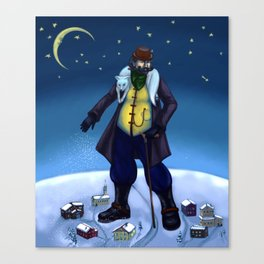 Mr. Winter Canvas Print