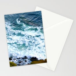 Los Angles, California blue ocean surf. Stationery Cards