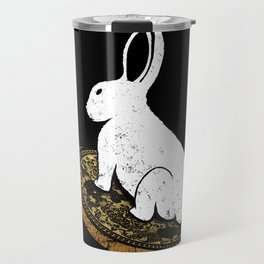 Follow The White Rabbit Travel Mug