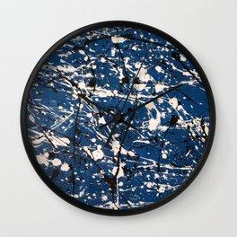 Blue Carnage Wall Clock