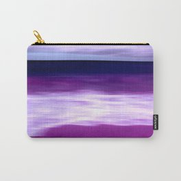 purple beach XII Carry-All Pouch