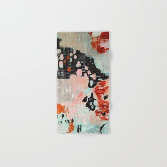 Abstract painting Hand & Bath Towel