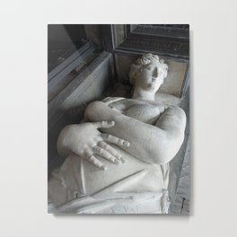Marble Maiden Metal Print