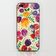 Summer Fruits Floral iPhone & iPod Skin