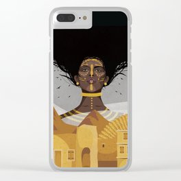 Berenice Clear iPhone Case