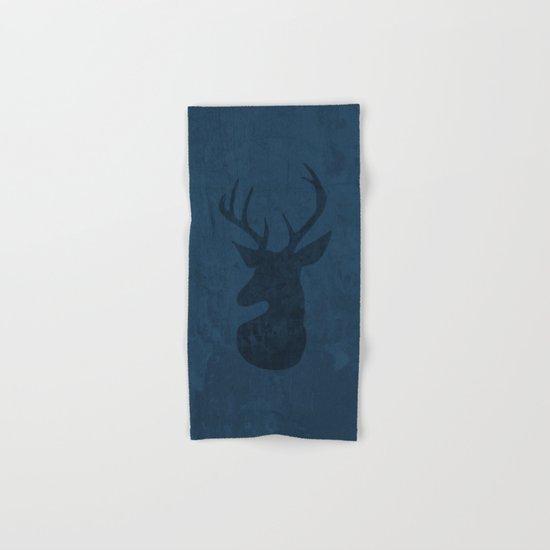 Blue Deer Design Hand & Bath Towel