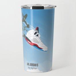 Air Jordan 5 - The Fighter Travel Mug