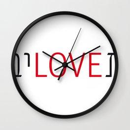 teloveiv Wall Clock