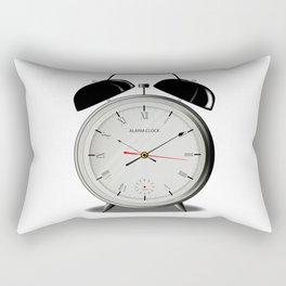 Alarm Clock Rectangular Pillow