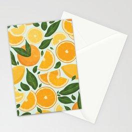 Summery Citrus Mood / Mint Splash Stationery Cards