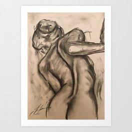 Look see Art Print