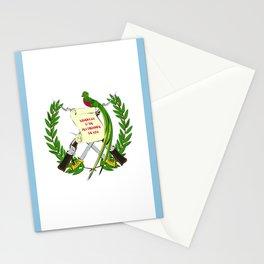 Guatemala flag emblem Stationery Cards